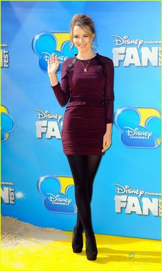 Bridgit Mendler: 'Teen Beach Movie' Premiere with Photo Bridgit Mendler is beautiful in burgundy at the premiere of Teen Beach Movie held at The Entertainment Quarter on Sunday afternoon (August in Sydney, Australia. Celebrity Outfits, Celebrity Crush, Celebrity Style, Beautiful Redhead, Beautiful Celebrities, Teddy Duncan, Disney Actresses, Hot Actresses, Black Opaque Tights
