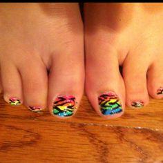 cute toenail designs   Cute Toe Design!   Let's c if micheal can do this