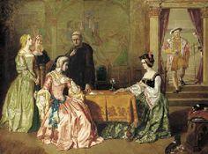 WILLIAM MAW EGLEY (1826-1916) CATHERINE OF ARAGON (1485-1536)