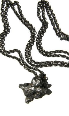 Meteorite Pendant by Jason Moss