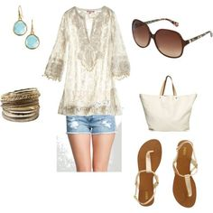 Perfect Outfit For A Mexico Vacation ;), Created By Sabra-benes On Polyvore