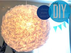DIY Paper Lantern - From Pinterest to Reality