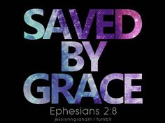 saved by grace- in more ways than one!