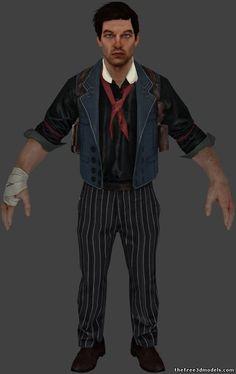 Booker DeWitt - The BioShock Wiki - BioShock, BioShock 2, BioShock Infinite, news, guides, and more