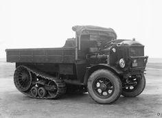 FWD-Roadless, 3-ton, Half-Track, Medium Artillery Tractor (B4E1) (via WWII Forums)