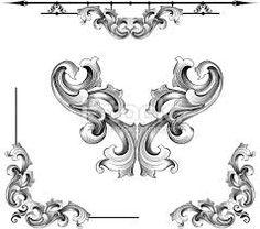 baroque frames document - Buscar con Google
