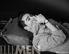 El actor Mark Chao protagoniza por partida doble el número de mayo de ELLE Men China
