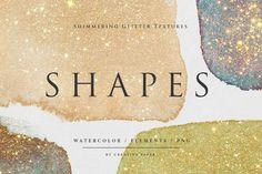 Gold Watercolor, Watercolor Texture, Watercolor Background, Scene Creator, Texture Design, Journal Cards, Design Bundles, Invitation Design, Free Design