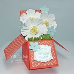 Mixed Bunch card in a box 014