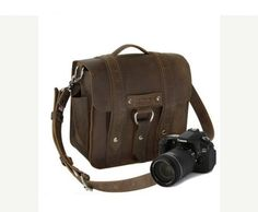 Hey, I found this really awesome Etsy listing at https://www.etsy.com/listing/87460081/10-brown-napa-safari-leather-camera-bag