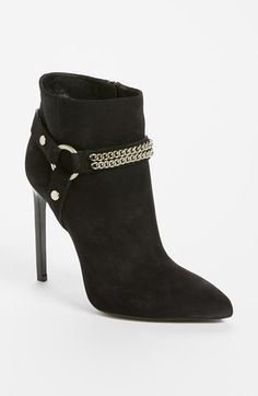 Yes, please!!   Saint Laurent Chain Bootie available at #Nordstrom
