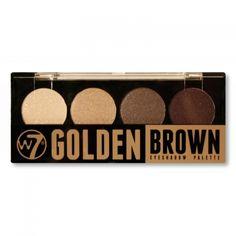 Golden Brown Eyeshadow Palette