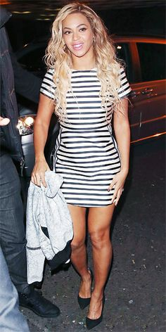 Look of the Day - March 9, 2014 - Beyonce Knowles in Topshop from #InStyle