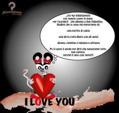 ecco cosa risponde la topina innamorata a San Valentino....