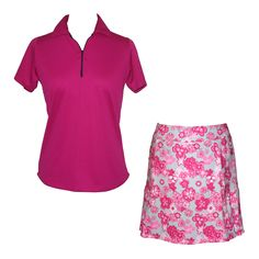 36ced86bd1b54 Golf outfit by Lady Golfwear. Part of the new Cherry Blossom collection   fashion