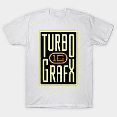Lightly Distressed Turbografx 16 Shirt - Mens T-Shirt