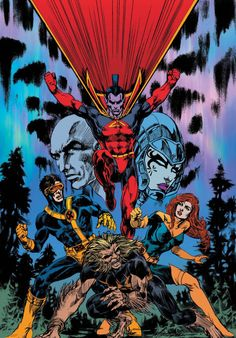 Mike Grell X-Men