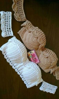 Biquíni de croche Avulso Escolha um dos modelos e informe o escolhido no campo … Loose Crochet Bikini Choose one of the models and enter the chosen one in the field note on request Matches 1 piece top) Gypsy… Continue Reading → Crochet Diy, Mode Crochet, Crochet Summer, Lingerie Crochet, Motif Bikini Crochet, Crochet Mignon, Diy Kleidung, Single Crochet, Crochet Clothes