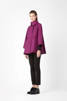 Wool alpaca coat -COS