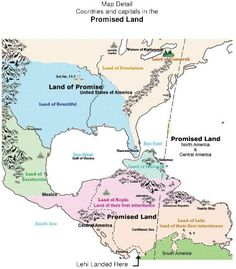 Book Of Mormon Lands | Book of Mormon geography map lands DNA true evidence | Book of Mormon ...