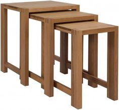 Reno Oak Nest of Tables £258.00