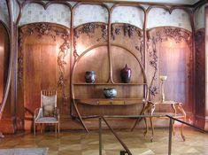 The Art Nouveau room at the musee d'orsay