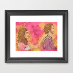 Save You Framed Art Print by Mike Brennan - $42.00