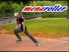 Tutorial Patinaje en Línea - How to stop on inline skates- Freno T, Powerslide, Círculo. - YouTube