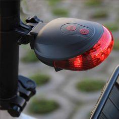 Ultra Luminoso Strada Mountain Bike Coda Torcia di Sicurezza Avvertimento Accessori Per Biciclette Lampada Della Luce Posteriore Della Bicicletta Avvertimento A LED di Colore Della Lampada