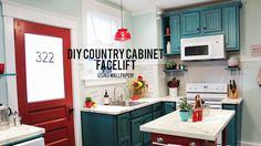 Photos: Cabinet Refacing | Knock It Off! | The Live Well Network