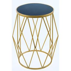 Black Gold Room Bailey Marble Side Table - New side table with black marble top. More than 1 available. Contact us if you need more than 1 pece. x x 15 pounds Materials: Metal, marble Color: Black and gold End Table Sets, Sofa End Tables, Side Tables, Marble Top End Tables, Contemporary End Tables, Gold Rooms, Black Side Table, Black Gold Jewelry, Coffee Table Design
