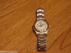 RARE McDonald's resturant men's adult watch stainless steel NOT WORKING
