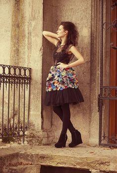 AtelierDeCouture / BrouillarD Skater Skirt, Skirts, Fashion, Moda, Fashion Styles, Skater Skirts, Skirt, Fashion Illustrations