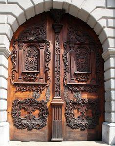 Beautiful door in Slovakia