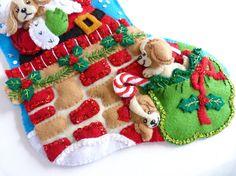 Christmas Stocking Bucilla Finished Stocking Personalized