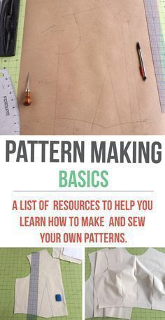 Sewing Techniques Couture Making a basic bodice pattern - A comprehensive collection of pattern making resources that are easy to understand! Sewing Hacks, Sewing Tutorials, Sewing Crafts, Sewing Tips, Sewing Ideas, Sewing Basics, Basic Sewing, Sewing Lessons, Sewing Blogs