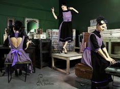 Carina, Models, Couture, Steampunk Fashion, Fashion Photo, Photo Shoot, Facebook, Formal Dresses, Hair