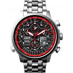 Citizen Navihawk Red Arrows Limited Edition Watch JY8040-55E