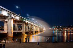Seoul - Banpo Bridge,Seoul,South Korea.