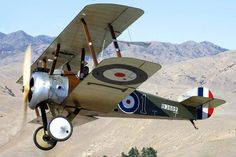 Sopwith Camel: Single-seat biplane fighter aircraft produced by the British Sopwith Aviation Company in the first decade of the twentieth century, and used by many air forces during the First World War.