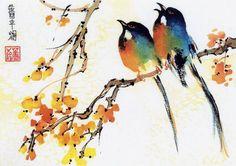 Rhoda Seiden  Subjects: landscape, still life, birds, flowers, the Southwest,  Japanese ink painting.