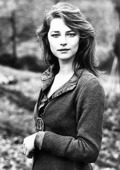 "Charlotte Rampling - ""Beach-bronde waves, soft turtlenecks—and the occasional stroke of kohl."" Sophie Schulte-Hillen, Vogue.com Contributing Editor"