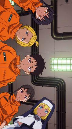 Wallpaper Pc Anime, Funny Phone Wallpaper, Cute Anime Pics, Awesome Anime, Shinra Kusakabe, Anime Soul, Animation Sketches, Otaku, Dark Anime