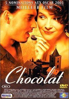Le Chocolat - Juliette Binoche, Johnny Depp. Une bande originale culte. Un filme très poétique et rétro comme on les aime.