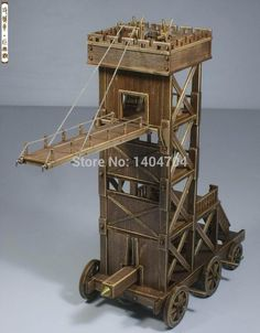 chinese siege tower 3d model - Google Search