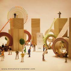 miniature calendar 6.1 -6 Festival-