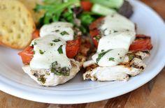 Mel's Kitchen Cafe | Grilled Caprese Chicken