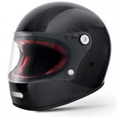 Collection of full-face motorcycle helmets, retro classic style. Motorcycle Helmets For Sale, Motorcycle Helmet Design, Motorcycle Equipment, Scooter Motorcycle, Biker Helmets, Motorcycle Outfit, Cafe Racer Casco, Scooters, Vintage Helmet