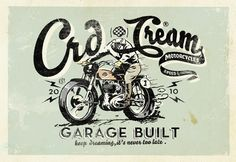 Crd Caferacerdreams Branding by Alex Ramon Mas, via Behance