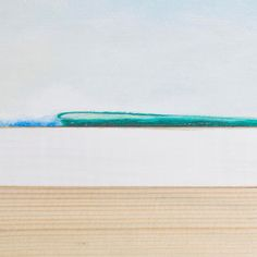 Seascapes on Wood - 'Green Left' cool surf art at the Beach Boutique